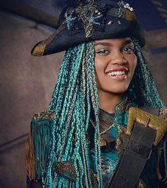 Uma the daughter of Ursula is the Main Antagonist in Descendants 2
