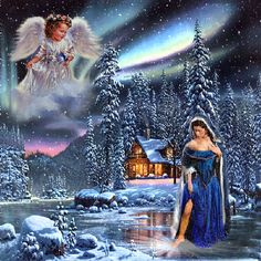 animated christmas photo: Merry Christmas Angels Animated 881144187.gif