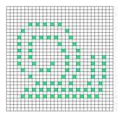 Ravelry: Snail Bobble Chart pattern by Kari Philpott