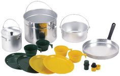 Stansport Deluxe 16 piece Four Party Aluminum Cook Set >>> Find out more about the great product at the image link.