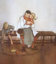 Ilustraciones Fabulous: Fairy Tales - Hansel y Gretel Hansel Y Gretel, Lisbeth Zwerger, Cute Characters, Fantasy Artwork, Children's Book Illustration, Story Inspiration, Nursery Rhymes, Childrens Books, Illustrators