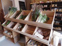 >農家直売の有機野菜・無農薬野菜が並ぶ『五ふしの草』@奈良市