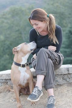 Too Precious! Louise Crane - pit bull trainer (see her on Pit Bulls & Parolees)