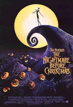 Day 1:This was hard but one of my top favorite Disney movies is The Nightmare Before Christmas :3