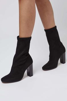 HEX Sock-Fit Ankle Boots - Topshop USA