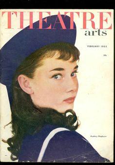 Theatre Arts February 1952 Audrey Hepburn