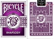 Bicycle Rhapsody Playing Cards (Purple)