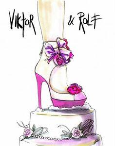 Fashion Shoe illustration by Achraf Amiri
