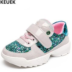 New Children Casual Shoes Girls Sneakers Princess Baby Shoes Kids Genuine Leather Bling Student Sports Shoes Toddler Flats 019. Yesterday's price: US $51.82 (42.98 EUR). Today's price: US $35.24 (29.14 EUR). Discount: 32%.