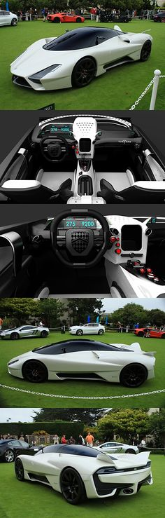 Shelby Supercars Tuatara Can I have it in tanzanite blue please