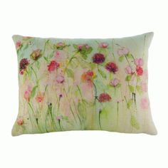 Peonies and Roses Cushion Evans Lichfield Sue Fenlon Design for sale Scatter Cushions, Throw Pillows, Home Flowers, Peony Rose, Floral Watercolor, Watercolour, Pink Peonies, Beautiful Artwork, Fabric