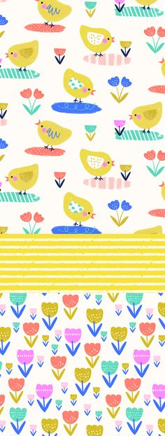 wendy kendall designs – freelance surface pattern designer » chick chick