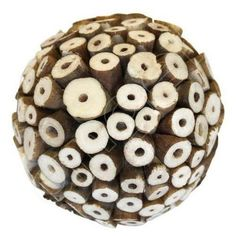 Ivory Botswana Medium Ball by Angel Aromatics | Ivory Medium Rattan Ball - Handmade Botswana Rattan Balls. The product link is http://www.angelaromatics.com.au/all/ivory-medium-botswana-ball