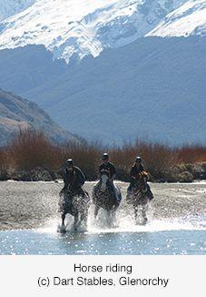 Horse riding, Glenorchy