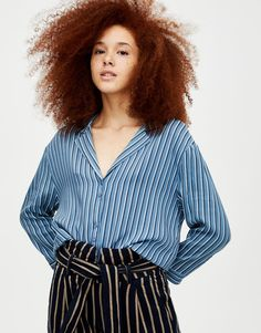 Clothes, Tops, Women, Fashion, Striped Shirts, Long Sleeve, Kleding, Blue, Outfits