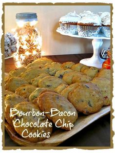 Bourbon-Bacon Chocolate Chip Cookies | Mantitlement | Bloglovin'