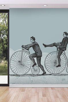 Papier peint Bicyclette - Papier peint Neodko - Editeurs