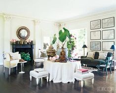 South Shore Decorating Blog: What I Love Wednesday: An Eclectic Mix of Rooms