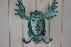Home Decor Cast Iron Moose Double Wall Hook   by beautifuldetailswed  For Rosie...