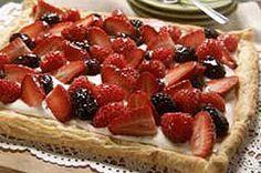 Berry Fruit Tart recipe