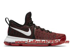the best attitude 2b512 0fe86 Nike Zoom KD 9 University Red 843392-610 Chaussures Nike Officiel Pas Cher  Pour Homme