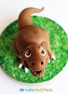 Dinosaur Cake Topper Tutorial