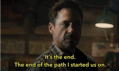 """…and Tony Stark (Robert Downey Jr.). 