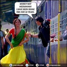Can see a host of females lining up to catch the #ChennaiExpress. Boys are you queuing up too? Share this #iconicmoment!