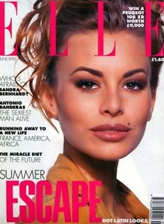 Niki Taylor 1992  I LOVED NIKI TAYLOR  one of my role models!