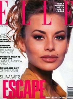 Niki Taylor 1992  I LOVED NIKI TAYLOR  one of my role models!