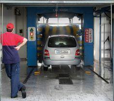 Fotoplane für Garagentor Car Wash / Garage Mural Car Wash