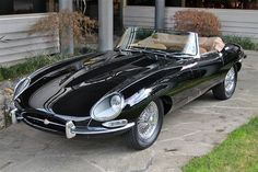 Throughout the early stages of the Jaguar XK-E, the lorry was supposedly planned to be marketed as a grand tourer. Changes were made and now, the Jaguar … Maserati, Bugatti, Ferrari, Top Sports Cars, British Sports Cars, Jaguar Xk, Jaguar E Type, Jaguar Cars, Black Jaguar