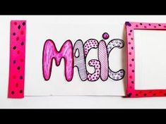 DIY MAGIC CARD. HOW TO MAKE MAGIC CARD with his own hands. - YouTube
