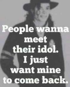 I want you back, Mike!!! ... I really do.. :(