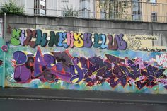 "Graffiti: ""Sick Nerds Club"" by CesarOne.SNC"