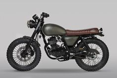 Mutt Motorcycles launches three new bikes for 2018 and they are as aggressively styled as ever - in the characteristic Mutt Motorcycle way. The new Mutt bikes are the MUTT MUTT HILTS GREEN 125 and MUTT SABBATH Moto Cafe, Cafe Bike, Cafe Racer Bikes, Cafe Racer Build, Triumph Motorcycles, Custom Motorcycles, Custom Bikes, Chinese Motorcycles, Suzuki Cafe Racer