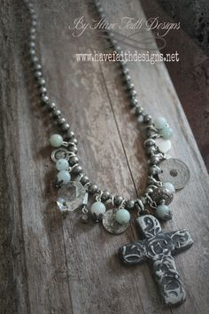 {Faith Not Fear} necklace By Have Faith Designs