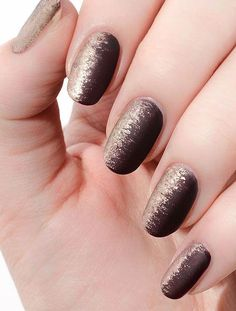 While Fall nail designs are all about burgundy and burnt-orange palettes, Winter is shades of dark and light grey, subtle sparkles, and nudes ombred with metallic gold accents. Here, we found a selection of beautiful nail art you can easily try this Winter. SOURCE: Instagram @mpnails, @paintboxnails, @cassmariebeauty, @paintboxnails, @Jinsoon   Pinterest