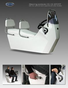 New steering console for GRAND inflatable boats