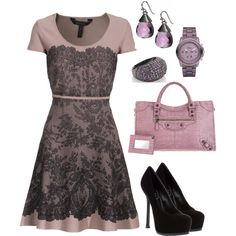 Lovely Lace, created by hasnija.polyvore.com