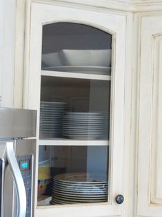 Kitchen Cabinet Door Images saw rain glass cupboards at menards and loved them | kitchen