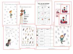 Afbeeldingsresultaat voor annie m g schmidt kleuters Schmidt, Learning Games, Good Company, Pre School, Spelling, Homeschool, Classroom, Scrapbook, Letters