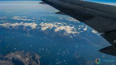 Volando sulla Groenlandia