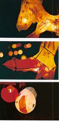 Winter solstice lanterns, 2005