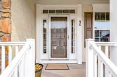 Centennial Mill 55+ Home, but no compromising all the space & style behind this door!