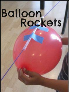 IDEA: Balloon rockets ~ gotta try this one...