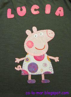 Patchwork: Camiseta de Peppa Pig