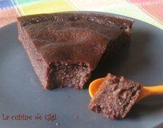gâteau de semoule au chocolat WW