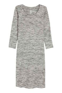 Jersey dress - Grey marl - Ladies | H&M