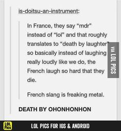 Funny humor laughing so hard hetalia 20 Ideas, Funny Tumblr Posts, My Tumblr, Funny Quotes, Funny Memes, Hilarious, Humor Quotes, Bazar Bizarre, Oui Oui, Learn French